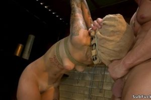 1017879 Tattooed Slave Is Rough Banged