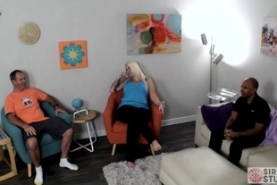 Lucky B · Dallas First Double Creampie