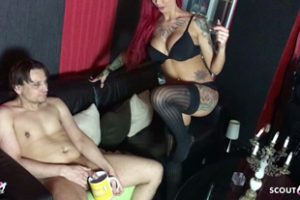 1153135 German Femdom Domina Fuck Slave In His Ass With Monster