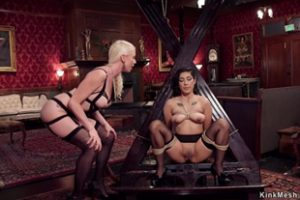 1153434 Blonde Governess And Slave Bdsm Fuck