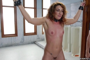 Hot trainee loves rough anal sex