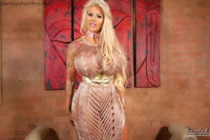 1214546 Candy Charms Sexy Gold Dress