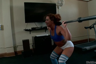 Slave squirting while anal fucking