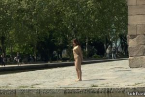 599317 Japanese Slave Nipples Tormented In Public