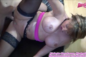 609051 German Big Tits Lonly Housewife Homemade
