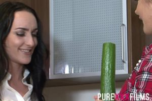 676852 Purexxxfilms Chloe Lovette And Maisie Rain Kitchen Pi