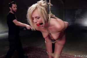 684303 Natural Blonde Slave Rough Anal Banged