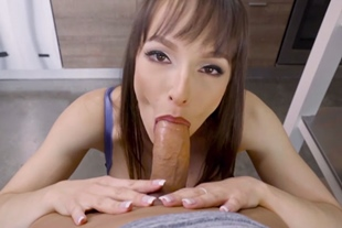Cooking lesson with MILF mom endx in sex