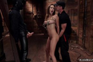 738725 Tight Slave Trainee Takes Huge Dick