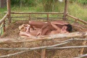 835878 Skinny Gypsy Teen Anal Fuck On Family Farm With Step Br