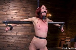 847576 Redhead In Pile Driver Anal Fucked With Toy