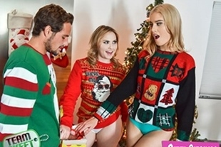 StepSiblings · Britney Light, Mazzy Grace · A Package From Santa