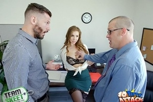 TittyAttack · Lena Paul · The Porn Office
