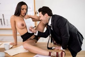 Bigtitsatwork Luna Star Hot Negotiations Video