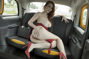Isabella Lui: The Redhead in the Red Dress · FakeTaxi