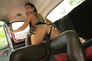 FemaleFakeTaxi · Horny driver hungry for black cock