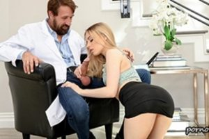 Petite Anna Claire Clouds Doctor Helps Petite Babe Video