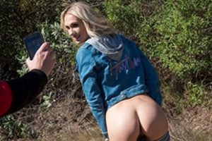 Spizoo Blonde Sky Pierce Gets Pounded On Outdoor Hike Video